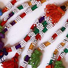 """TASSELS Turkoman Tribal Belly Dance Turkman 11"""" (29cm) Bellydance 621w7"""