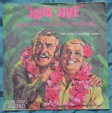 "Don Estelle & Windsor Davies – Java Jive 7"" – CSS 0072 – VG"