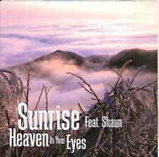 SUNRISE ft SHAUN -  heaven in your eyes CDS!! eurodance