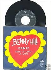 BENNY HILL-ERNIE-ORIGINAL DIFFERENT COVER YUGOSLAV PS 45rpm 1971-SOUNDTRACK