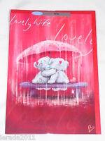 WIFE VALENTINE CARD ME TO YOU TATTY TEDDY VALENTINES DAY CARD FEMALE