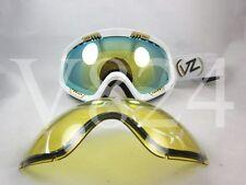 VON ZIPPER SNOW Goggles FEENOM - WHITE GLOSS  2 Set Lens FEE-WHG GMSNQFEE-WHG
