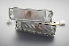 88-97 TOYOTA HILUX CLEAR BUMPER BAR INDICATOR TURN SIGNAL LIGHT LN85 LN100 LN106
