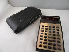J36⭐⭐ Texas Instruments Taschenrechner Mit Leder Etui ⭐⭐