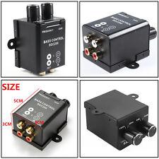 Universal Car Bass RAC Adjust Amplifier Subwoofer Equalizer Crossover Controller