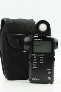 Sekonic L-508 Zoom Master Digital Ambient/Flash/Spot Light Meter #877