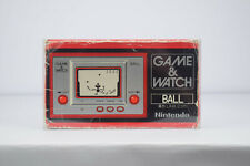 Nintendo Game & Watch Ball Original AC-01 Silver Series Vintage LCD Handheld and