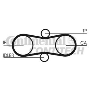 CT914K1 CONTITECH TIMING BELT (Volvo,VW) NEW O.E SPEC with 1 YEAR WARRANTY!