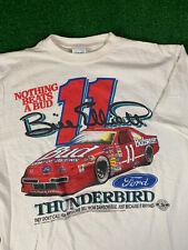 Vintage 1992 Bill Elliott Budweiser Nascar Shirt