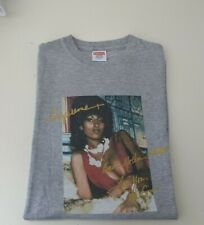 Very rare SS12 Supreme Pam Grier Tee grey T-shirt size L large vintage