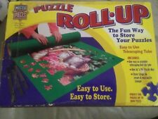 Master Pieces Jigsaw Puzzle Mat Board Roll Up Storage Up to 1000 Pieces 36x30
