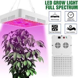 Full Spectrum 3000W LED Grow Light For Hydroponic Veg Flower Plant Lamp Panel UK