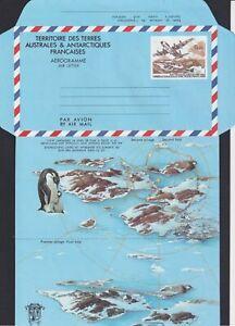 F-EX17698 TAAF FRENCH POLAR ANTARTIC FRANCE MNH Nº1 AVION PENGUIN PINGUINO.