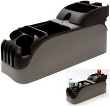 Universal Center Car Console Organizer Truck Cup Holder Minivan Auto Storage New