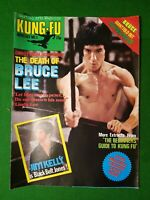 BRUCE LEE, KUNG-FU MONTHLY NO 3 1970S RETRO MARTIAL ARTS MAGAZINE kfm poster mag