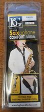 More details for bg s12sh comfort alto/tenor saxophone sling, snap hook