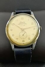 EXACTO WWII 40th MILITARY RARE 15J VINTAGE 38mm  ANCRE SWISS WATCH.