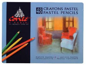 Conte C2184 Pastel Pencil 48-Color Set New