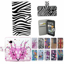 Fashion Women Men ID Wallet Flip PU Leather Phone Case Cover for HTC One M7 801s