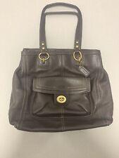 Coach Brown Penelope Leather Shoulder Bag f19264 Soft Pebbled