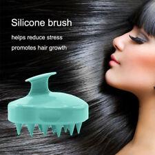Silicone Shampoo Scalp Shower Body Washing Hair Massage Massager Brush Comb USA