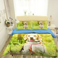 3D Labrador N51 Animal Bed Pillowcases Quilt Duvet Cover Queen King Amy