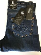 Women's Rock and Republic Jeans $50 OFF Size 4 M Mid Rise Bootcut Retail $88.00