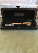 PARKER DUOFOLD FOUNTAIN PEN STERLING SILVER  INTERNATIONAL MED  PT  NEW IN BOX