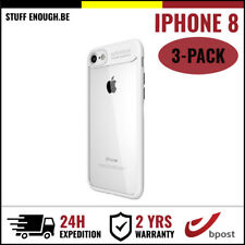 3IN1 Focus Armor Cover Cas Coque Etui Silicone Hoesje Case For iPhone 8 White