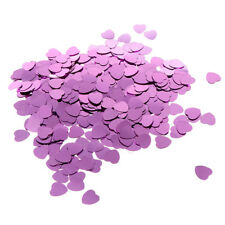 500X Heart Shape Shiny Confetti Wedding Birthday Marriage Party Table Decoration