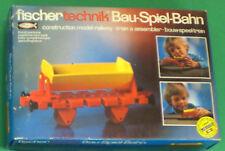 30120 FISCHERTECHNIK Kipplorenwagen Bau-Spiel-Bahn NEU OVP MIB H0 Vintage Train