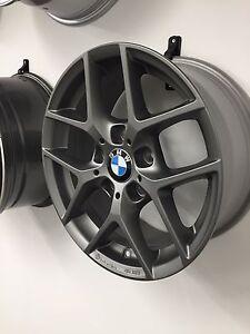 4X BORBET Y 7X16 ET31 Titan Matt 3er BMW E46 2er F22 F23 4er F32 Z3 E36