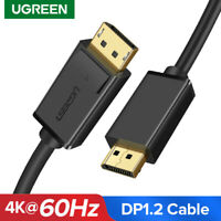 Ugreen DP to DP Cable 4K 60Hz UHD DisplayPort Monitor Video Cable for HDTV PC