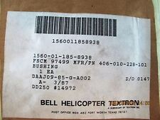 Bell OH-58 Kiowa Bushing Stop 406-010-228-101 [DNTL]