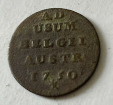 More details for 1750 austrian netherlands brabant maria-theresia 1 oord (liard) coin - scarce