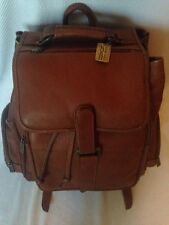 Claire Chase Leather Vintage Quality  Bak-Pak Leather Backpack BAG   Nice