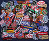 Lot Random Embroidered Sew Iron On Patch Set Racing Motorcycle sport Auto Biker