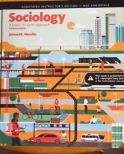 Sociology : A down-To-Earth Approach by Henslin 13th HB Instructors edition