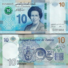 TUNISIA - Tunesia 10 dinars 2020 - FDS UNC