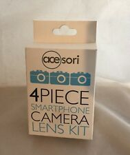 New Acesori A-ILK Smartphone Camera 4-Piece Kit with 3 Lens and Microfiber Cloth