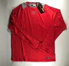 Men's Under Armour Vent Long Sleeve Baseball Fitted Shirt Size Large Nwt 1252004
