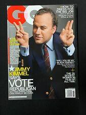 NOVEMBER 2008 GQ MAGAZINE - MARK SELIGER, Joel Lovell, Jimmy KIMMEL