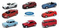 NEW 2017 Welly Serie 8 DieCast Metal Toy Cars 1:60 NEW MODELS NEW COLORS