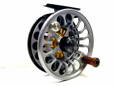 Bauer RX 5 Classic Spey Fly Reel - Black / Charcoal - NEW - FREE FLY LINE