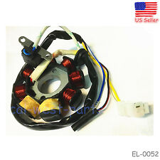 8 Pole Coils Ignition Stator Magneto For GY6 125 150cc Moped Scooter Go Kart ATV