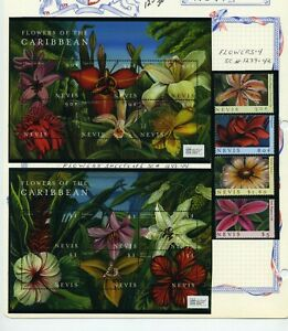 NEVIS   MNH   1239-47   Flowers of the Caribbean     AG752