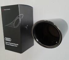 Audi A3 8P original Auspuffblende Endrohr Auspuff Endrohrblende S3 schwarz
