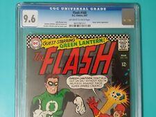 The Flash 168 CGC 9.6 1967 High Grade Infantino Art OW/W Pg Green Lantern