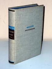 Max Eyth: Meisterjahre. Aus Briefen eines Ingenieurs. Um 1925