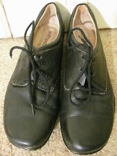 Softspots Black Womens Size 9 Narrow Width Comfort Leather Low Heal